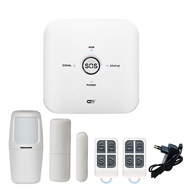 [$42 99] 2019 TUYA Support New Security Home System WiFIGSM Home Alarm DIY  Wireless WiFi Alarm /Smart Home Wireless Security 433 MHz