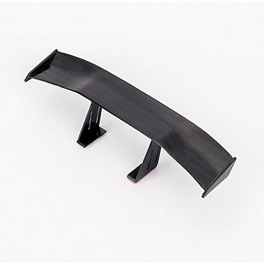 billige Automotiv-bil bakspoiler mini spoiler vinge liten modell hale dekorasjon