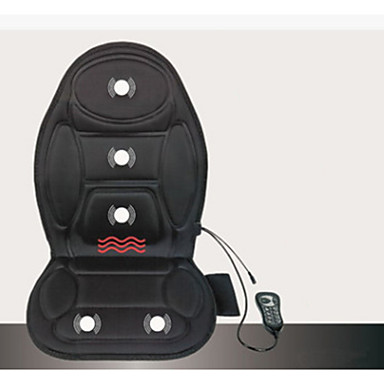 47 89 Seat Cushion Vibrating Massage Cushion With Heat Therapy For Back Home Car Use