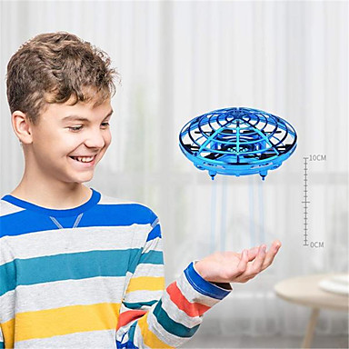 cheap Consumer Electronics-Mini UFO Drone Anti-collision Flying Helicopter LED Light Magic Hand UFO Ball Aircraft Sensing Induction Drone Kid Electric Electronic Toy