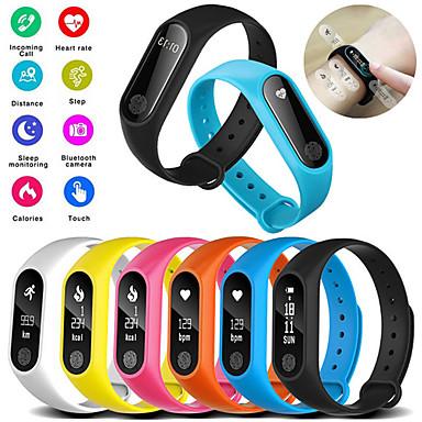 billige Forbrukerelektronikk-m2 smart armbåndsur, vanntett sport, hjertefrekvensmåler, smartband, pedometer, kalorier, søvn, tracker, bluetooth, smart, klokke