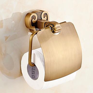 מחזיק נייר טואלט עיצוב חדש / מגניב מודרני פליז 1pc מותקן על הקיר