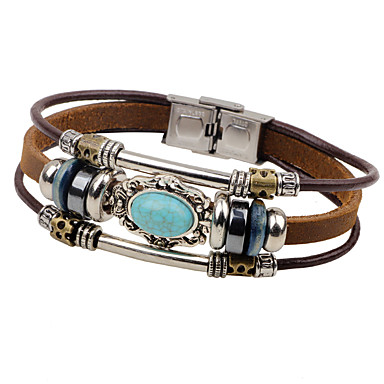 Adjustable Wide Leather Bracelet//Exaggeration//Mens Leather Bracelet Mens Leather Bracelet