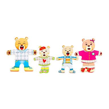 סרט מצוייר יצירתי עץ לילד פעוטות כל צעצועים מתנות