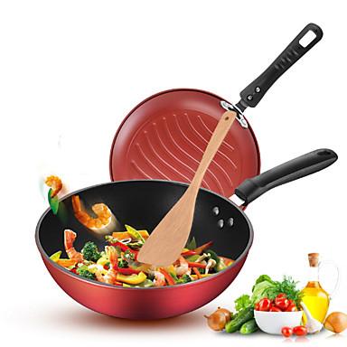 2 חלקים סטים לארוחות כלי אוכל פלדת אל חלד / ברזל יצירתי