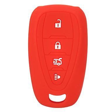 levne Závěsy a ozdoby do auta-4 tlačítka silikonový kryt na klíče pro dálkové ovládání pro Chevrolet 16-17 camaro cruze malibu