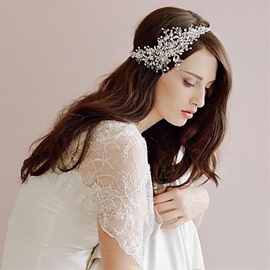 cheap Hair Jewelry-Women's Fashion Cute Princess Rhinestone Solid Colored