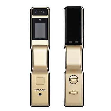 [$651 99] Scorpio face recognition lock password smart home palm vein  unlock home security lock APP optional smart lock