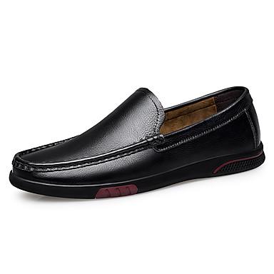 Ανδρικά Παπούτσια άνεσης Συνθετικά Άνοιξη / Φθινόπωρο Μοκασίνια & Ευκολόφορετα Αναπνέει Μαύρο