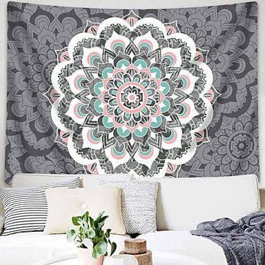14 99 Floral Theme Bohemian Theme Wall Decor 100 Polyester Mediterranean Bohemia Wall Art Wall Tapestries Decoration