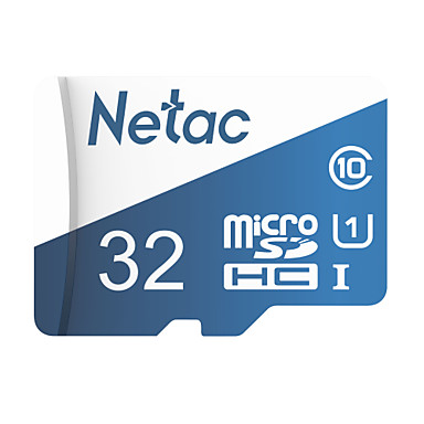 cheap Highly Recommended-Netac 32GB Micro SD / TF Memory Card UHS-I U1 80MB/s camera
