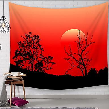 נושא קלאסי קיר תפאורה 100% פוליאסטר מודרני וול ארט, קיר שטיחי קיר תַפאוּרָה