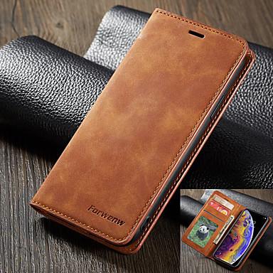 رخيصةأون أغطية أيفون-forwenw leather case for iphone se2020 leather case flip wallet cover for iphone11 pro max leather case iphonex / xs xr xsmax 7/8 plus phone bag with card case