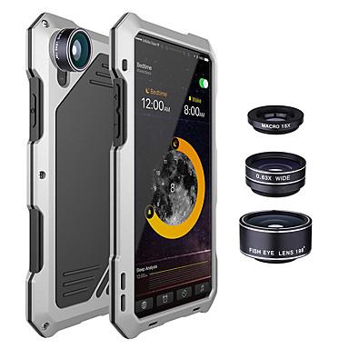 povoljno iPhone maske-metalni poklopac s kućištem otpornim na udarce s 3 objektiva fotoaparata za iPhone x 7/8 7/8 plus