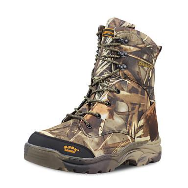 בגדי ריקוד גברים נעלי טיולי הרים נעלי טיולים עמיד למים עמיד נושם צעידה סתיו אביב / נגד החלקה