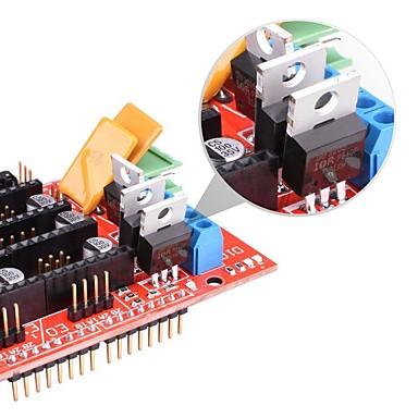 levne 3D části tiskárny a doplňky-rampy 1.4 řídicí deska 5pcs drv8825 stepstick ovladač modul pro 3d tiskárny