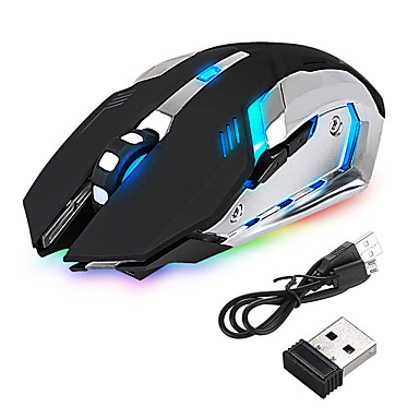 cheap Mice & Keyboards-led wireless optical gaming mouse rechargeable x7 high resolution mouse