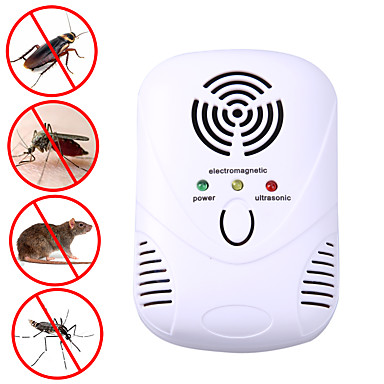 cheap Construction & Decoration-Electronic Ultrasonic Mouse Killer Mouse Cockroach Trap Mosquito Repeller Insect Rats Spiders