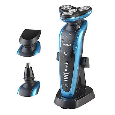 preiswerte Rasiere & Epilierer-Kemei Elektrorasierer für Herren 200-240 V Handdesign / Drahtloser Gebrauch