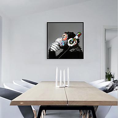 cheap Framed Arts-Framed Art Print Framed Set - Animals Pop Art PS Oil Painting Wall Art