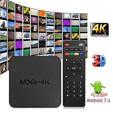 [$24 99] MXQ 4K Android 7 1 2 4G WIFI DLNA Smart TV Box RK3229 Quad Core  1G+8G Set-top Box Media Player