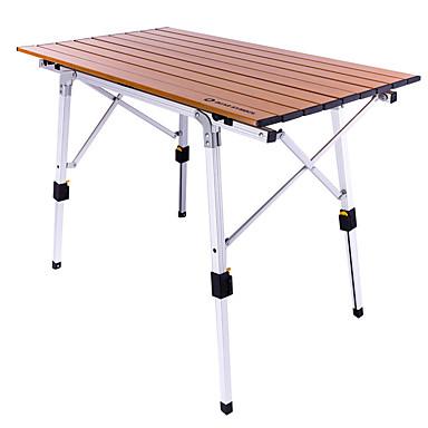 80 x 72 x 70 cm White Plastic IPAE-Progarden Tevere Folding Camping Tables