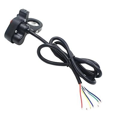 אופנוע אופניים אופנוע הרכבה מתג כפתור 3 ב 1 עיצוב (עבור הרמקולים המוביל פנס להפעיל אותות)