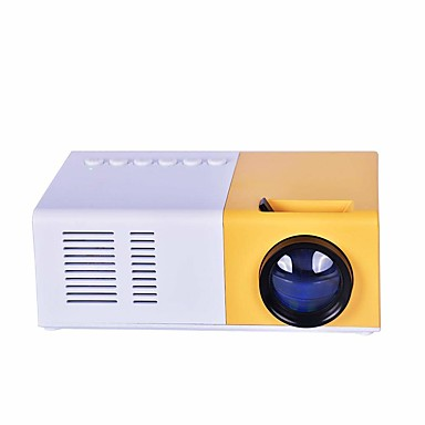 cheap Projectors-J9 Mini Projector 1080P HD Projector Ultra Portable Projectors LED Pico Projector Support Cell Phone Home Theater Cinema Multimedia with VGA Cable USB HDMI