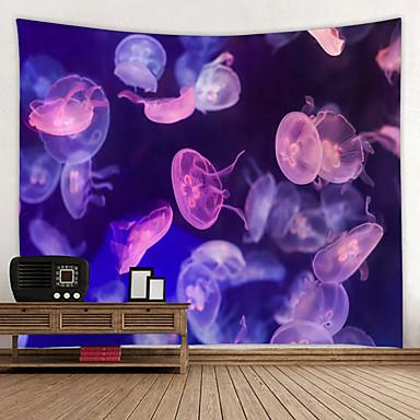 cheap Wall Tapestries-Beach Theme Wall Decor 100% Polyester Mediterranean / Modern Wall Art, Wall Tapestries Decoration