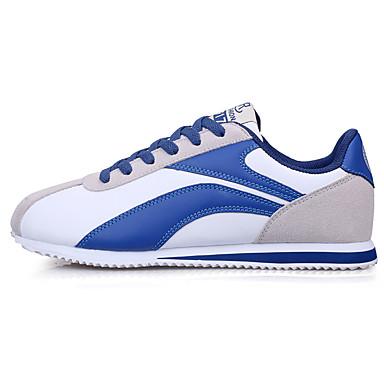 בגדי ריקוד גברים נעלי נוחות רשת קיץ / סתיו ספורטיבי / יום יומי נעלי אתלטיקה הליכה נושם אפור / כחול