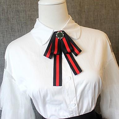 עניבת פפיון - קולור בלוק מסיבה / פעיל / סגנון חמוד בגדי ריקוד גברים / בגדי ריקוד נשים