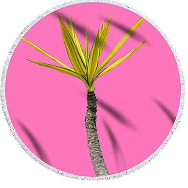 איכות מעולה מגבת חוף, פרחוני  בוטני 100% פוליאסטר 2 pcs