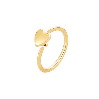 povoljno Modne naušnice-Žene Klipse Ime Naušnice Jewelry Zlato / Pink Za Ulica Praznik 1pc