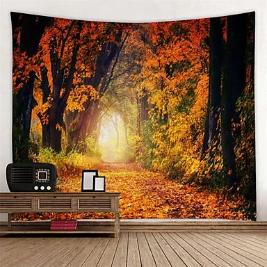povoljno Ukrašavanje zidova-Vrt Tema / Cvjetni Tema Zid Decor 100% poliester Moderna Wall Art, Zidne tapiserije Ukras