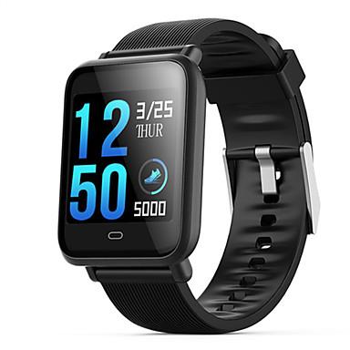 levne Pánské-Dámské Digitální hodinky Na běžné nošení Módní Černá Modrá Červená Silikon Digitální Černá Bílá + káva Fialová Voděodolné Bluetooth Smart 30 m 1 sada Digitální