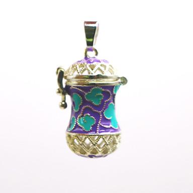 levne Dámské šperky-Dámské Přívěšky Medailónek Brož Šperky Fialová Modrá Pro Denní