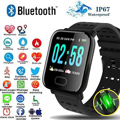 preiswerte Intelligente Elektronik-a6s smart armband uhr pulsmesser blutdruck aktivität fitness tracker armband smart band für ios android
