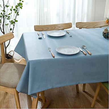 עכשווי קאנטרי כותנה ריבוע כיסויי שולחן לוח קישוטים
