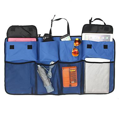 levne Organizéry do auta-multifunkční síťky z nylonové síťky do kufru úložného kufru na zadní sedadlo zavěšené na organizér
