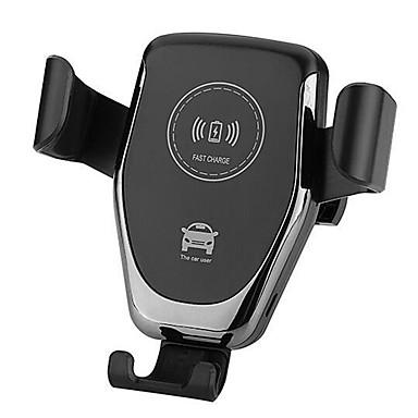 billige Interiørtilbehør til bilen-10w trådløs bil lader luft vent mount telefonholder