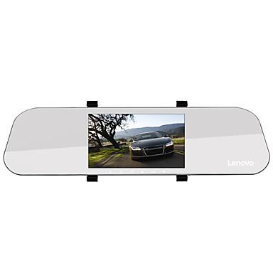 billige Bil Elektronikk-Lenovo HR02 1080p Full HD / med bakkamera / Oppstart automatisk opptak Bil DVR 170 grader Bred vinkel 5 tommers IPS Dash Cam med Night Vision / G-Sensor / Parkeringsmodus Bilopptaker