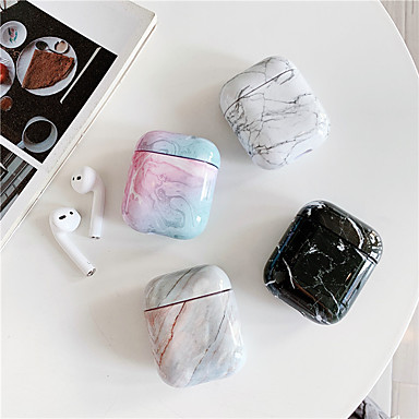 cheap Marble Case-Case For AirPods Shockproof / Dustproof Headphone Case Hard