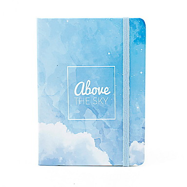 cheap Stationery Supplies-Novelty Paper English Letter Pattern Coil Book / Note Book Notepad For School Office Stationery A7