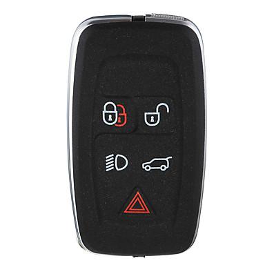 voordelige Autohangers & Ornamenten-5 knoppen zwarte afstandsbediening sleutelhanger geval shell voor land range rover / sport 2010-2012