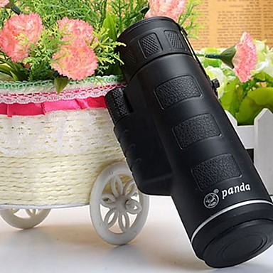 levne Mikroskopy a endoskopy-35x50 / 40x60 monokulární zoom mini dalekohled hd gleam noční vidění širokoúhlý venkovní lovecký kemp monokulární