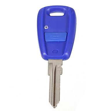 levne Doplňky do interiéru-1 knoflík modré pouzdro na dálkové ovládání klíčů pro fiat stilo punto seicento