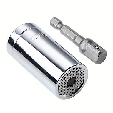 preiswerte Auto Notfallwerkzeug-7-19mm Universal verstellbare Drehmoment Ratsche Steckschlüssel Set Schraubenschlüssel Multifunktions-Handwerkzeug-Set