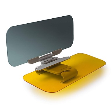 billige Interiørtilbehør til bilen-bil solbeskytter extender beinhome bil anti-glare tonet vindrute extender