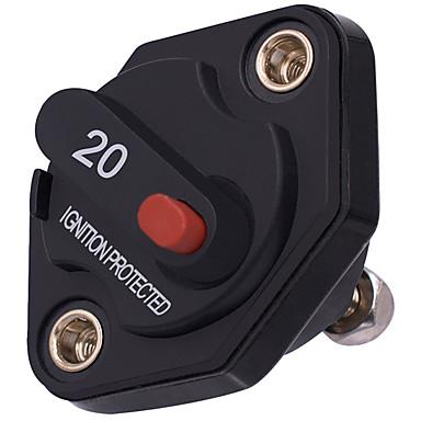 preiswerte Autoteile-20a 30a 40a auto motor energie inline leistungsschalter sicherung zurückgesetzt 12 v / 24 v