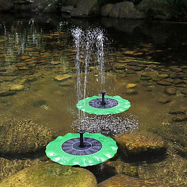 Dongguan ph10700207y5 flytende lotusblad fontene solspray